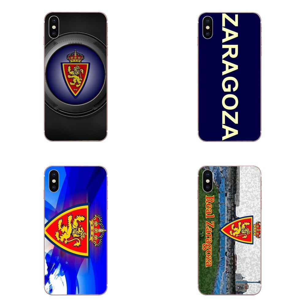 Real Zaragoza logotipo para Huawei Honor Mate 7 7A 8 9 10 20 V8 V9 V10 G Lite jugar Mini pro P Smart a la venta
