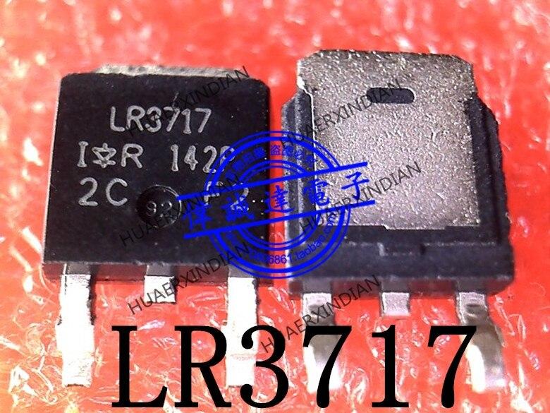 1 peças original novo irlr3717trpbf irlr3717 lr3717 to-252 em estoque imagem real