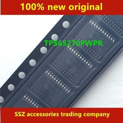 10PCS-50PCS TPS65270PWPR TPS65270 HTSSOP-24 100% original novo