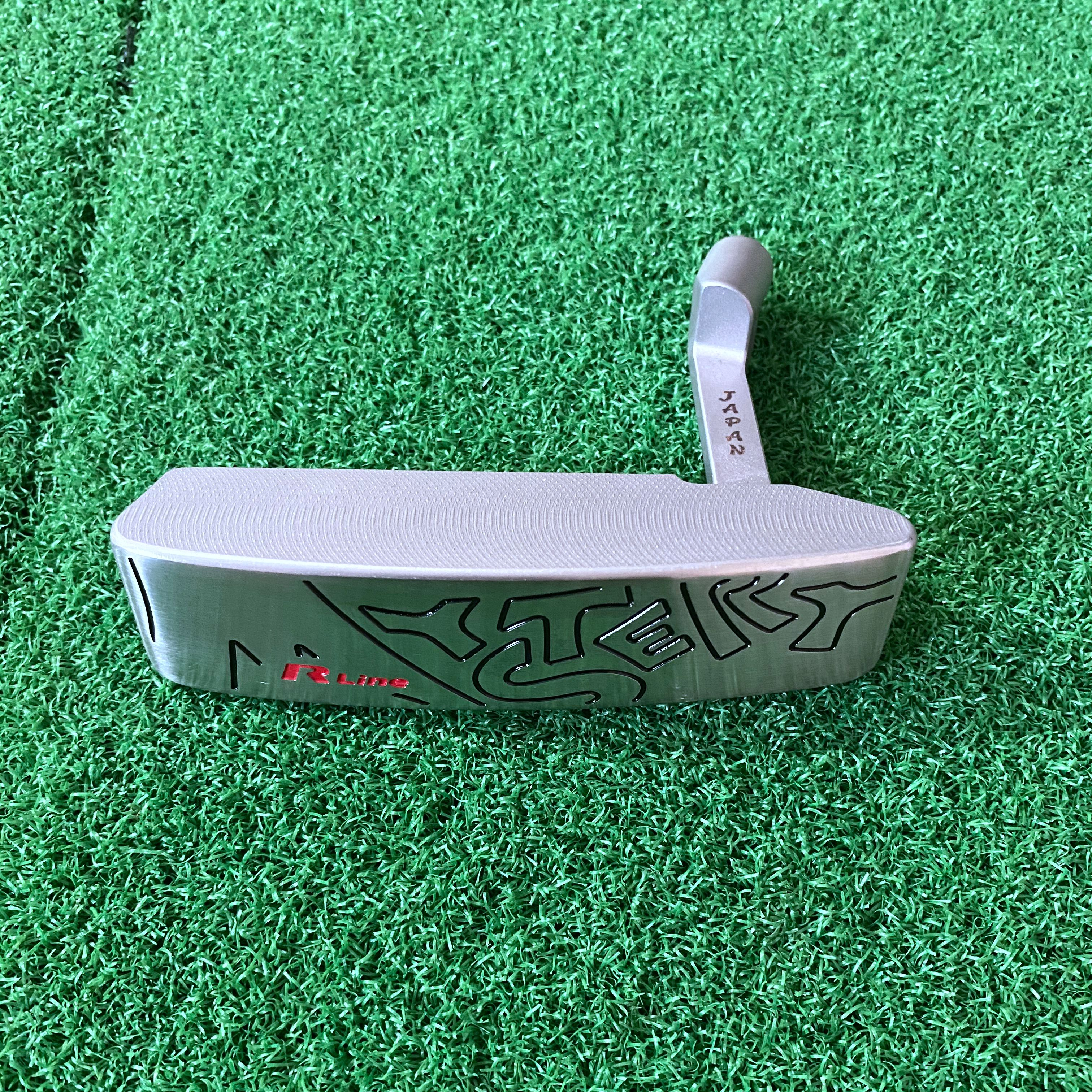 Golf Clubs Putter Head Only Majesty Men Soft Iron No Shaft Free Shipping Forged
