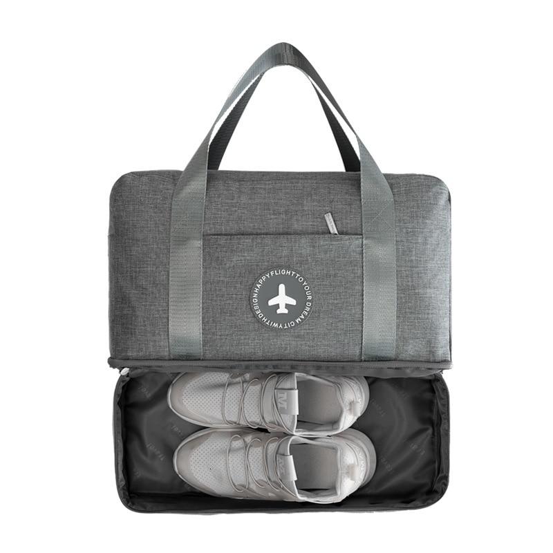 K-STAR Fitness Bag Large Capacity Dry And Wet Separation Bag Swimming Bag Travel Waterproof Shoe Bag Fitness Bag