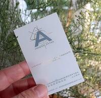 1000pcslot clear matte pvc transparent business card