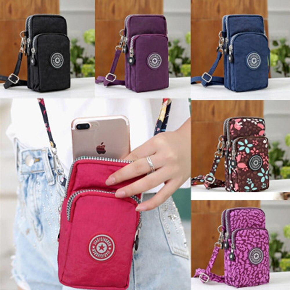 2020 Fashion Mobile Phone Shoulder Bag Adjustable Shoulder Strap Length Cross-body Bag Women's Pouch