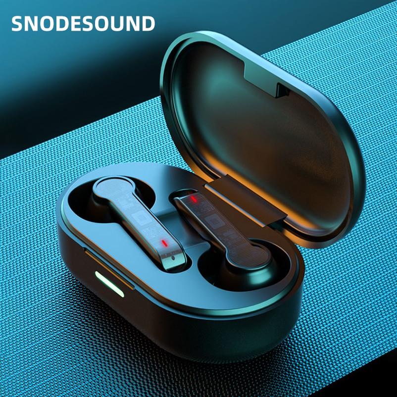 Snodesound L32 Wireless Headphone TWS Bluetooth Earphone 5.0 HIFI Stereo Bass Headset In-ear Earbuds For Sport Xiaomi Phones