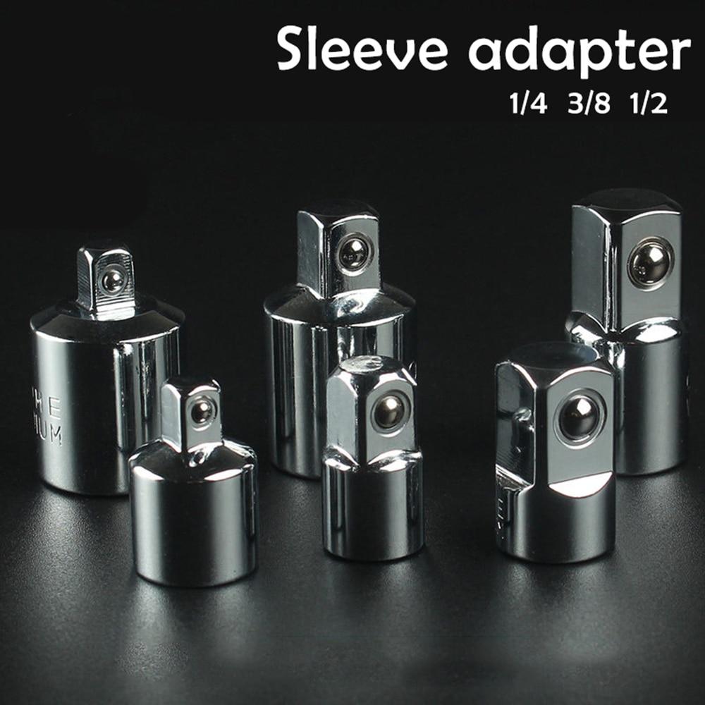 1/4 3/8 1/2 cala adapter klucza z grzechotką tuleja ze stali - Narzędzia ręczne - Zdjęcie 2