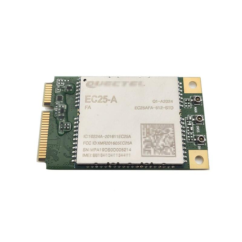 Quectel EC25-A EC25AFA-512-STD LTE 4G Cat4 وحدة B2/B4/B12 يدعم DFOTA ، eCall و DTMF محدد مواقع
