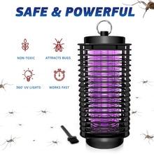 Eléctrico LED antimosquitos lámparas de mosca del Mosquito trampa de luz Anti repelente de mosquitos asesino Control de pestes e insectos repelente de enchufe de la UE