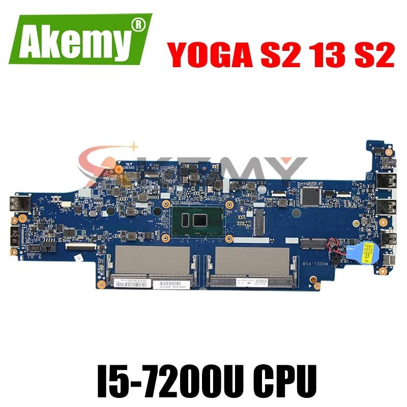 اللوحة المحمول لينوفو اليوغا S2 13 S2 النواة SR2ZU I5-7200U اللوحة DA0PS9MB8E0 01YT021 01HW974 DDR4