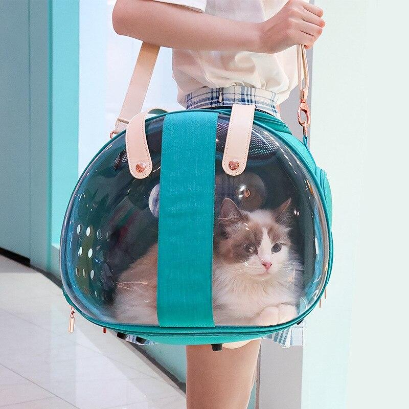 Bolsa transparente de pescado doble para perro... accesorio de mochila para cachorro...