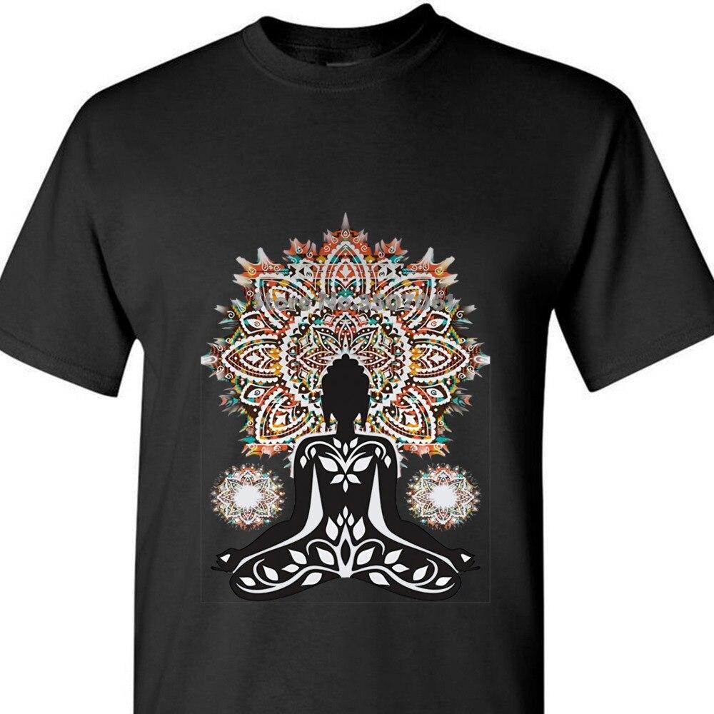 Camiseta Azteca para hombre, Top de Buda Chakra meditación Zen Hobo Boho C1 - 20 2018, recién llegado, abrigo, ropa, tops