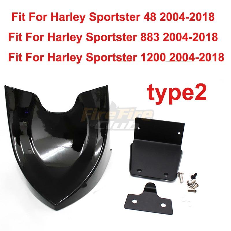 Couverture de carillon de carillon   Pour Harley Sportster 48 883 1200 2004 et 2018, Fatboy Softail Touring Dyna, menton, becquet avant et inférieur, Air Dam