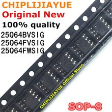 2 uds 25Q64FWSIG 25Q64FVSIG SOP-8 25Q64BVSIG SOP W25Q64FVSIG W25Q64FWSIG W25Q64BVSIG 25Q64 SMD SOP8 nuevo y original IC Chipset