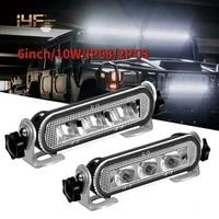 ip68 super bright 6inch spot beam super slimled light barwork lightfor auto atv utv 4x4 accessories offroad trucks 12v 24v 36v