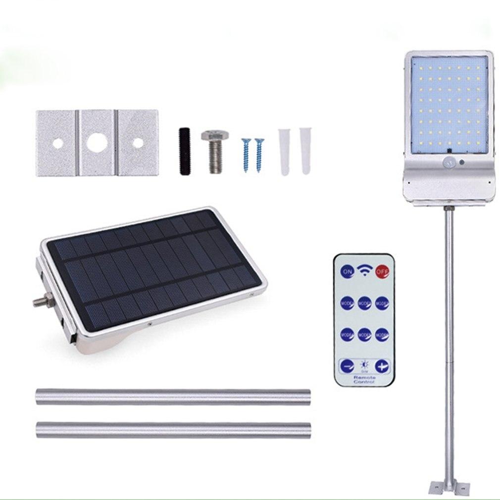 Lámpara solar 56LED lámpara de pared impermeable al aire libre de inducción humana