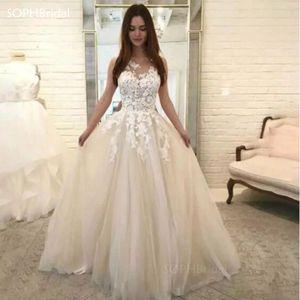 New Arrival Lace Appliques Formal Evening Dress Long 2021 Robe De Soiree A-Line Princess Party Gowns Vintage Prom Dress