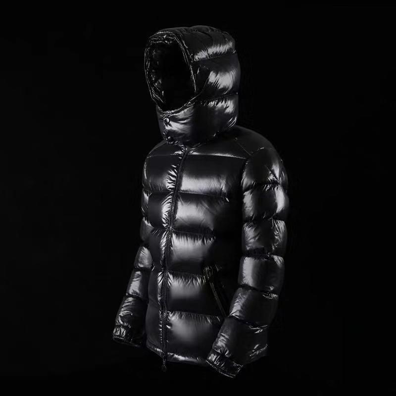 Chaqueta nueva de invierno 2020 para hombre, Abrigo con capucha, chaquetas de pato abrigadas, ropa para hombre KJ5740