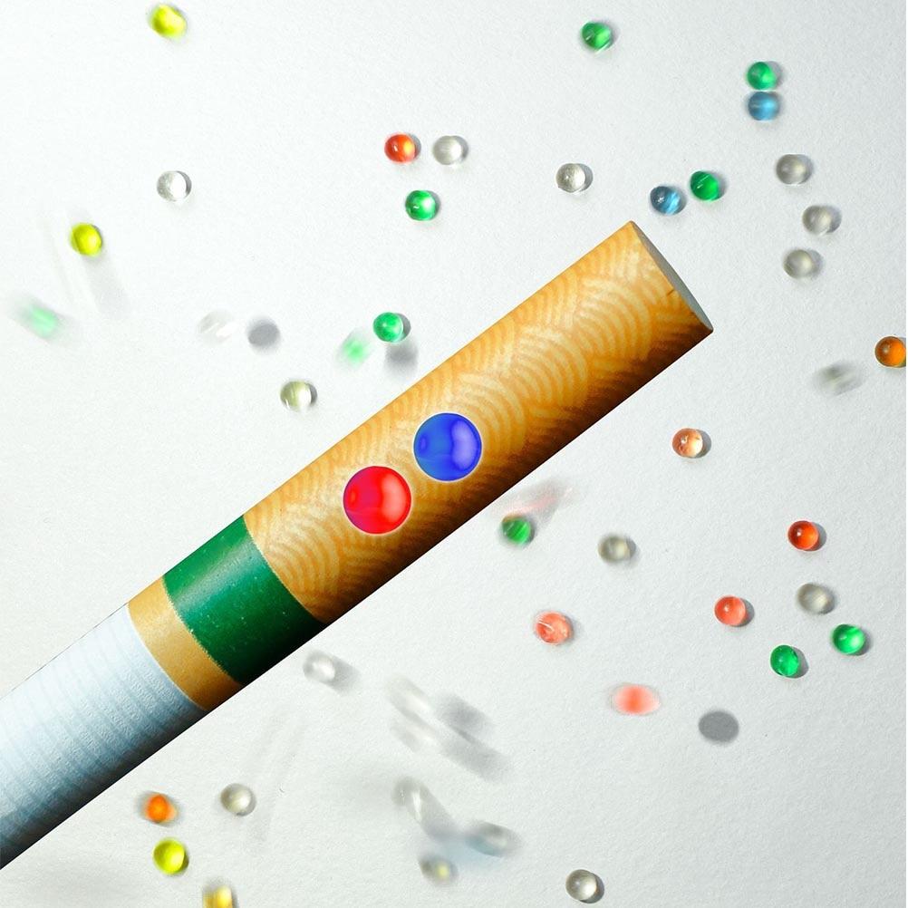 100 Uds cápsulas de Aroma mentol menta portátil Cápsula de filtro de cigarrillo DIY cuentas de explosión sabor a menta Pops Beads Cigarette Holder