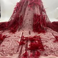 latest fashion stones lace fabric 2021 high quality african net lace fabric 5yards nigerian tulle lace fabrics for wedding