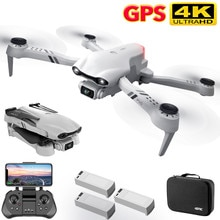 4DRC 2021 New 4K HD dual camera with GPS 5G WIFI wide angle FPV real-time transmission rc distance 2