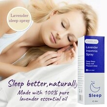 Lavender Pillow Sleep Spray Insomnia Essential Oil Soothe Sleep Deep Sleep Enjoyable Sleep Insomnia