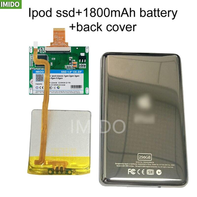 Disco Duro MK3008GAH MK8010GAH MK1634GAL para Ipod clásico 7Gen 7. ° 512 GB Ipod vídeo 5. ° lugar, Ipod HDD