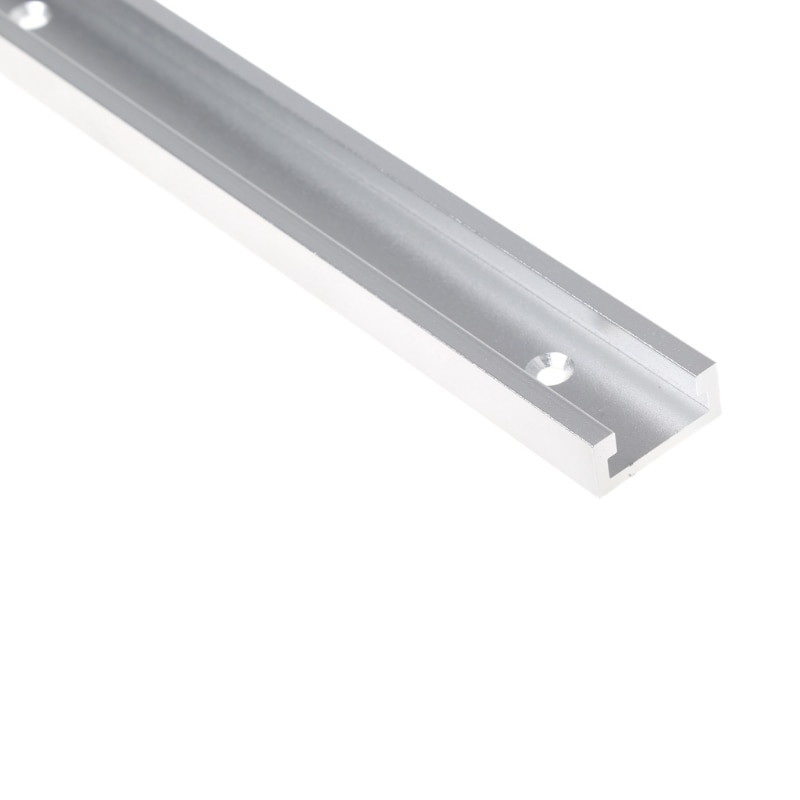Inglete de ranura de aluminio de pistas en T de 400/600mm, accesorio...