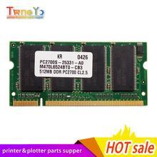 """CH336-60001 CH336-80001 GL/2 الذاكرة 512MB ل المنسق التبعي بطاقة المنطق مجلس RAM ل طابعة تصميم إتش بي 510 510ps 24 """"42"""""""