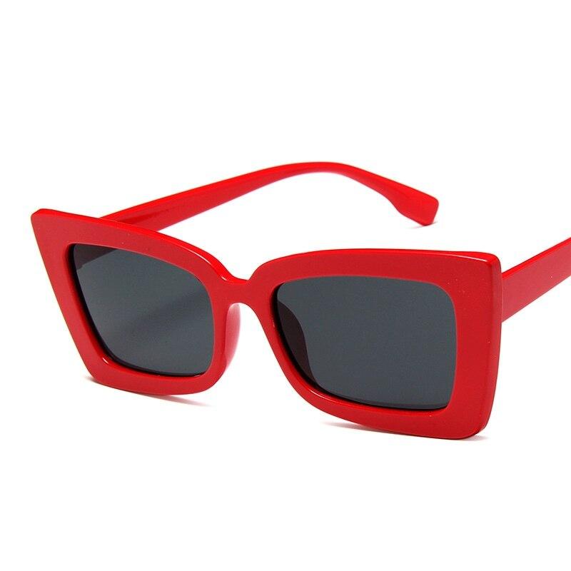 Square Sunglasses Women 2021 Luxury Brand Designer Eyeglasses Vintage Oculos Feminino Street Eyewear