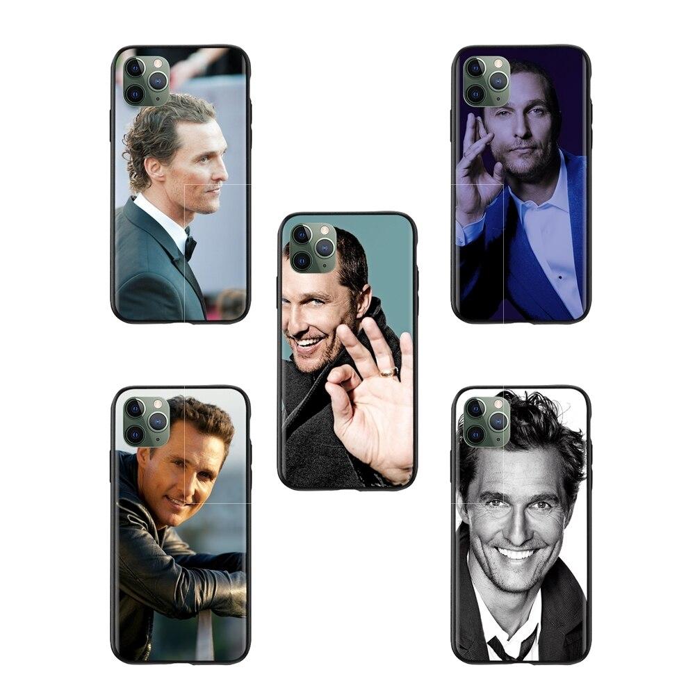 Hombres Matthew mcconaughey claro iphone 6 caso jb hi fi accesorios de plástico del teléfono