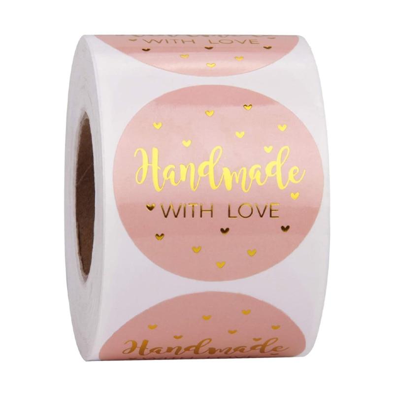 50-500-pezzi-fatti-a-mano-con-amore-adesivi-in-carta-kraft-25mm-etichette-adesive-rotonde-cottura-decorazione-di-cerimonia-nuziale-adesivo-decorazione-del-partito