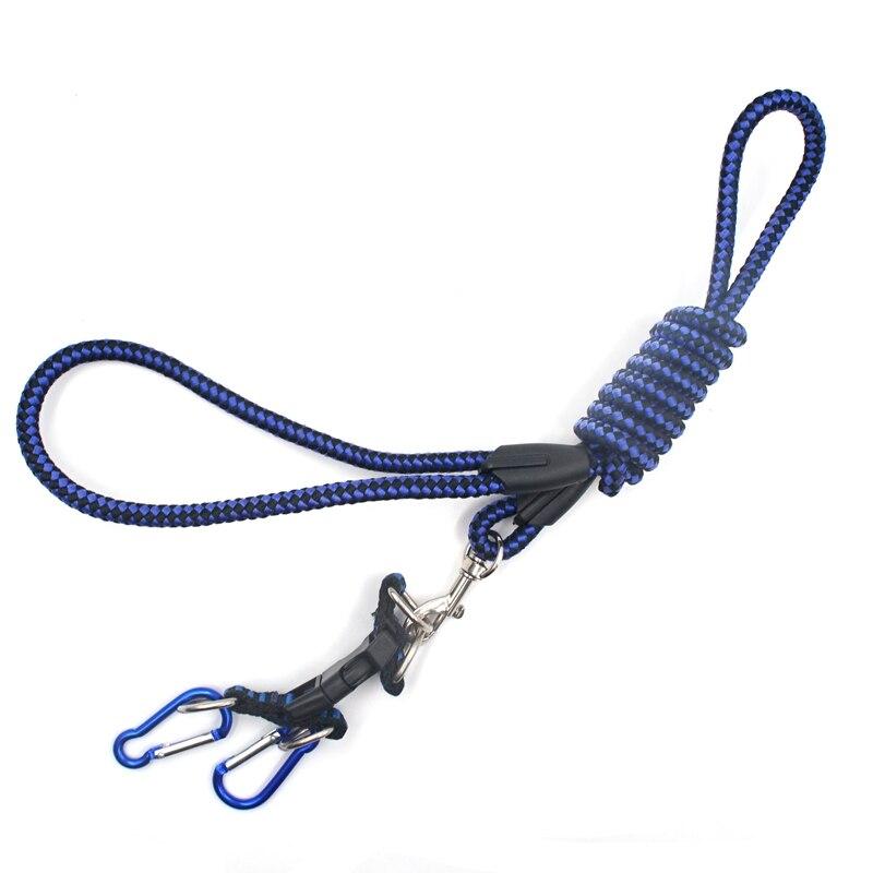 1 pçs corda de reboque com gancho para 15 18 110 rc carro traxxas trx4 E-REVO x-maxx cimeira axial scx10 90046 wraith rr10, azul