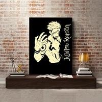 Affiche imprimee modulaire en HD  peinture sur toile  dessin anime  pour salon  decoration de la maison