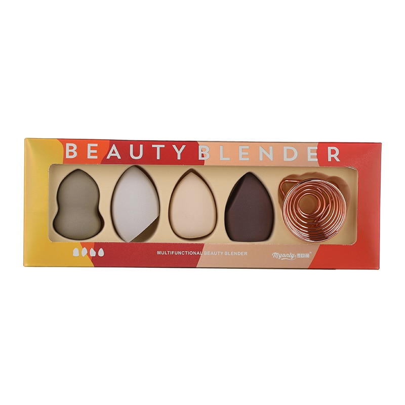 Gift Box Cosmetic Puff Foundation Powder Makeup Sponge Soft Smooth Face Blending Concealer Make Up P