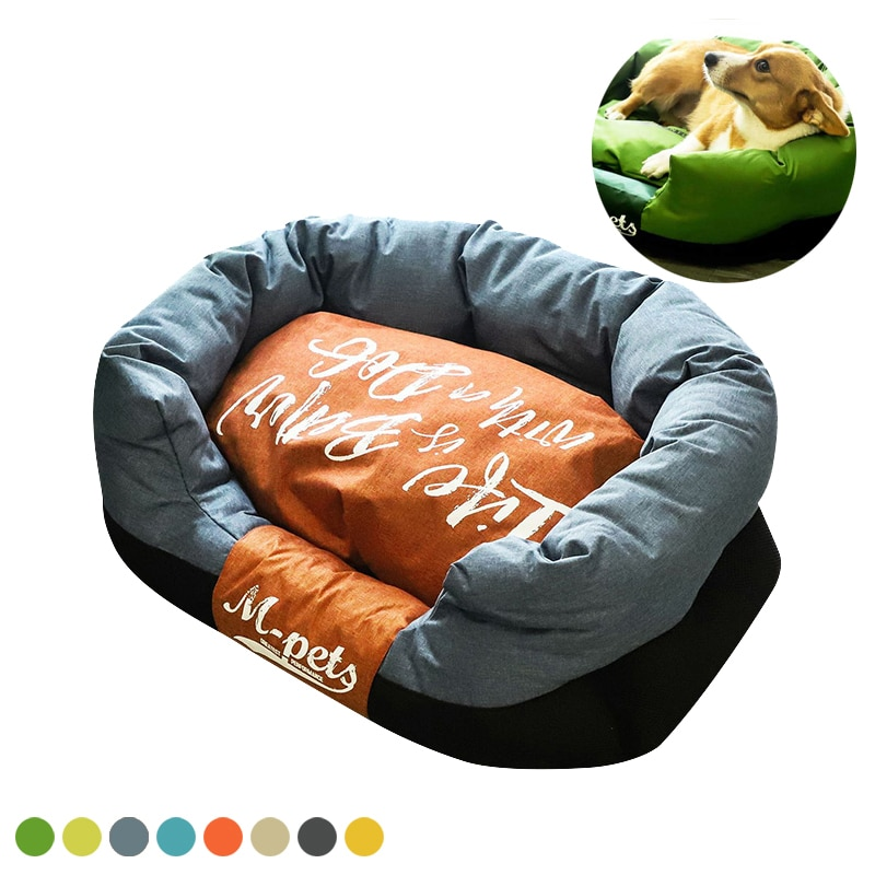 Pet Products Warm Cat Mat Soft Comfortable Puppy Bed Small Medium Dog Tent Four Seasons General Dog House Removable and Washable