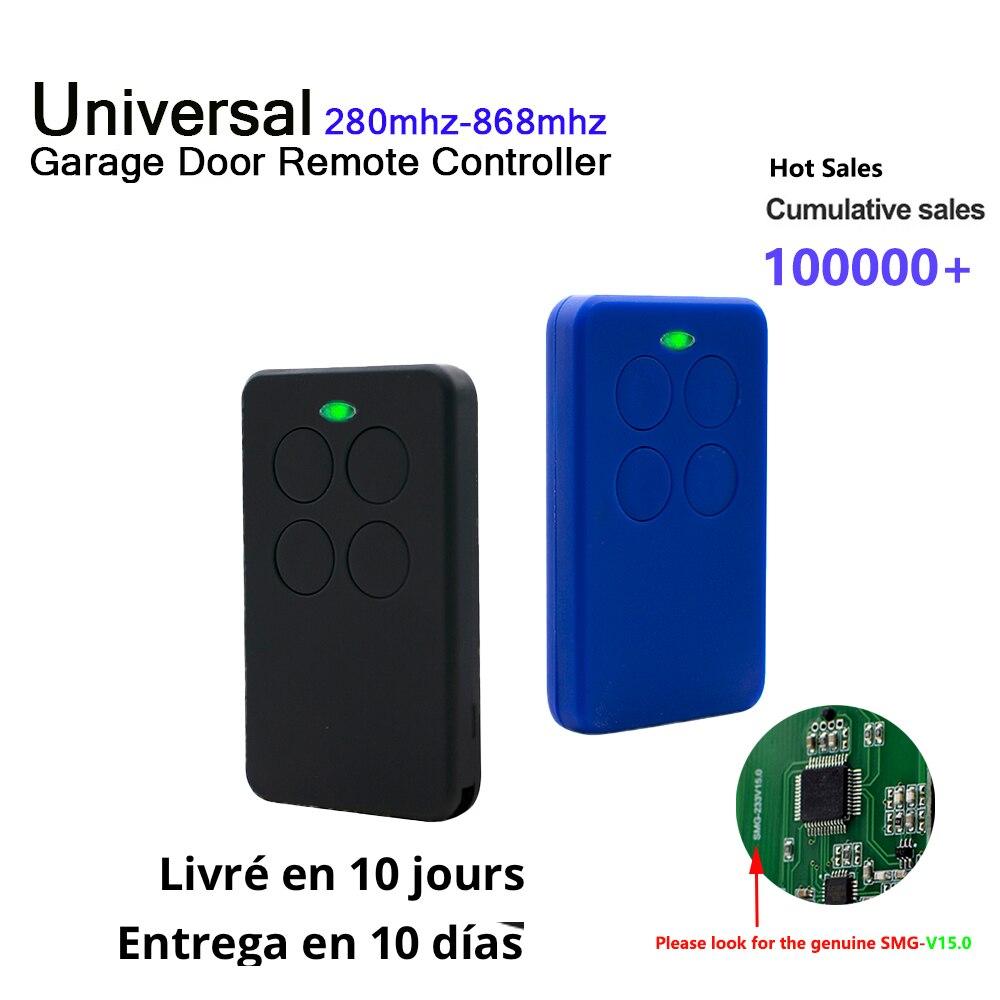 гараж Гаражный пульт дистанционного управления дубликатор , многочастотный фиксированный/Непрерывный код 433 МГц, Открыватель гаражных две...