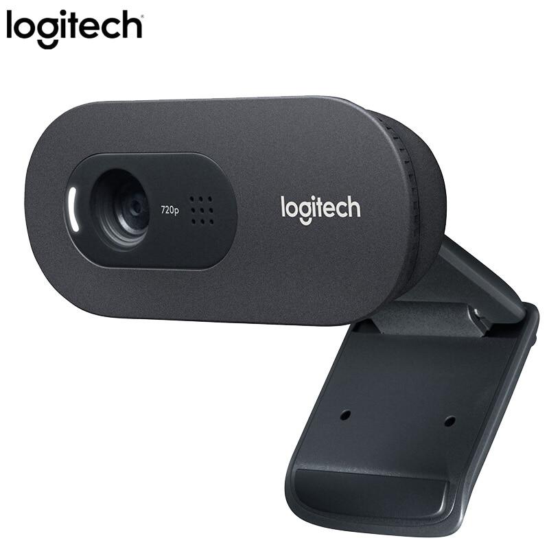 Logitech C270i HD 720p IPTV HD PC Mini Webcam micrófono incorporado USB2.0 unidad libre casa Oficina webcam de escritorio