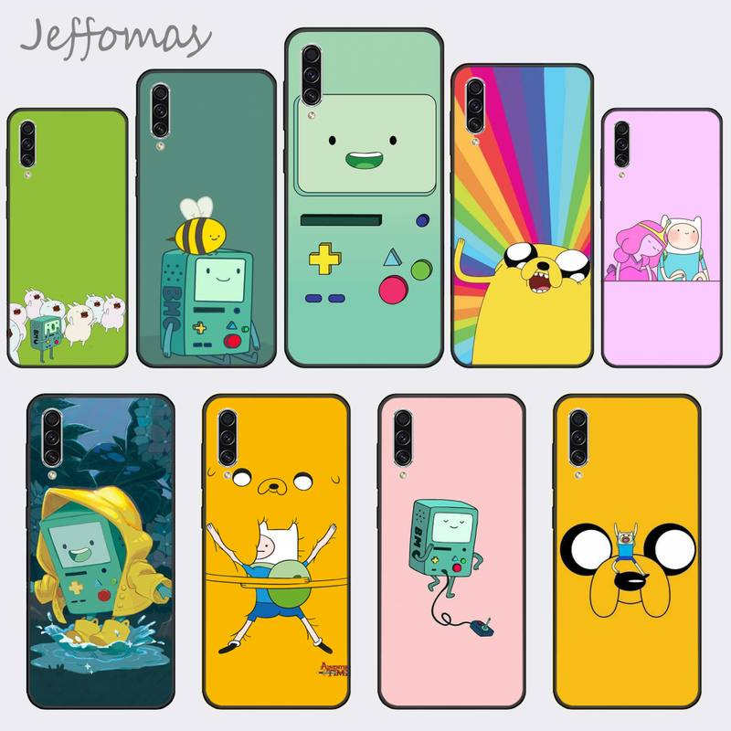 Adventure time bonito beemo bmo jake finn telefone capa para samsung a20 a30 30s a40 a7 2018 j2 j7 prime j4 plus s5 nota 9 10 plus