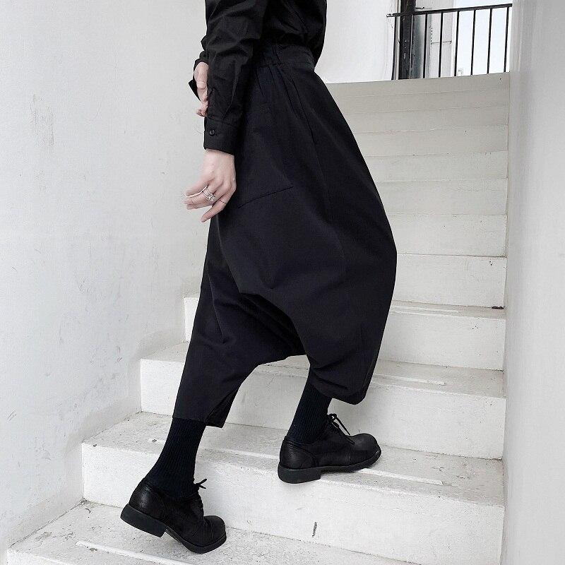 Pantalones holgados de moda Hip Hop para hombre Yamamoto, personalidad de nicho oscuro, pantalones casuales versátiles de moda
