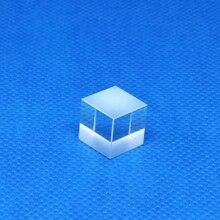 Lentille de lumière Visible de prisme de séparateur de Cube de faisceau polarisant de PBS pour le diamètre rouge des Lasers 650nm 10mm