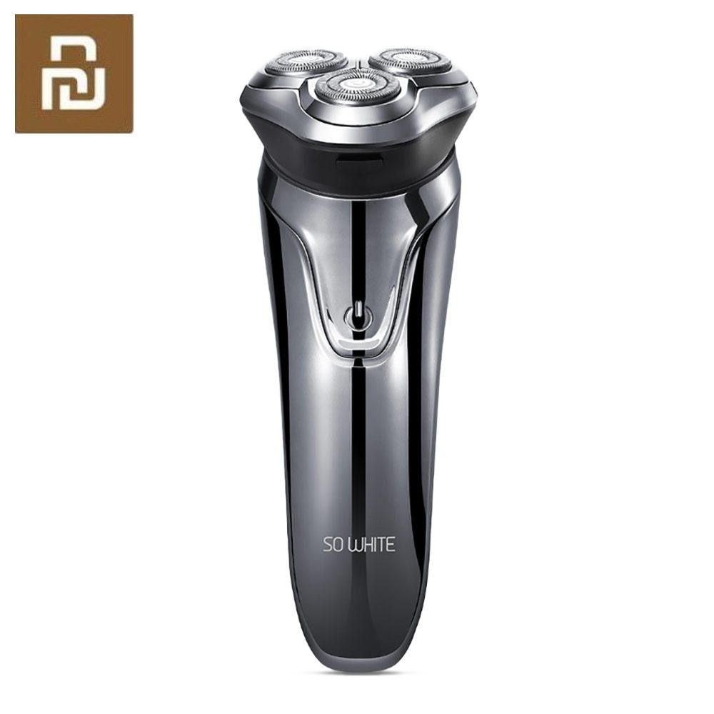 Nueva maquinilla de afeitar eléctrica pinjing 3D Smart Control USB carga eléctrica protección de bloqueo IPX7 impermeable