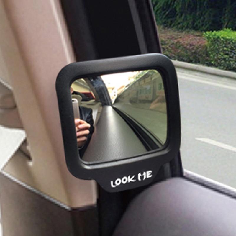 CHIZIYO 270 stopni samochodowy o szerokim kącie lusterko wsteczne samochodu pomocnicze lusterko wsteczne wyeliminować punkt niewidomych dla bezpieczeństwa samochodu