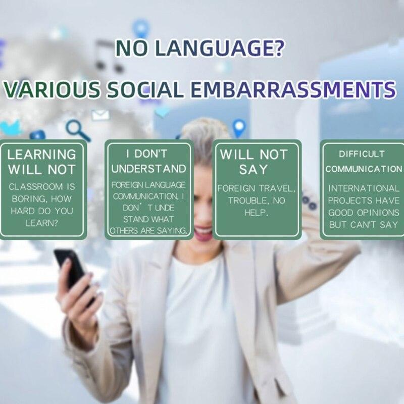 أجهزة مترجم اللغة الذكية مترجم اللغة الفورية جهاز ترجمة N0PB