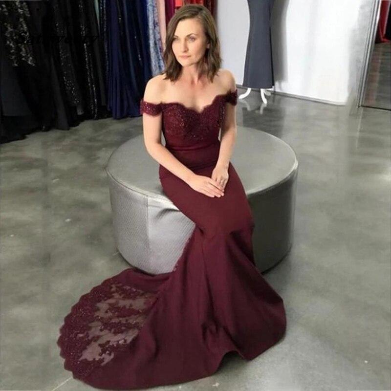 فستان وصيفة العروس على شكل حورية البحر ، مجموعة جديدة ، 2021