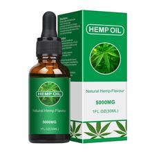 30ml Organic Oil Hemp Oil Pure Natural Skin Care Oil Essential Sleep Care Analgesic Skin Body Oils N
