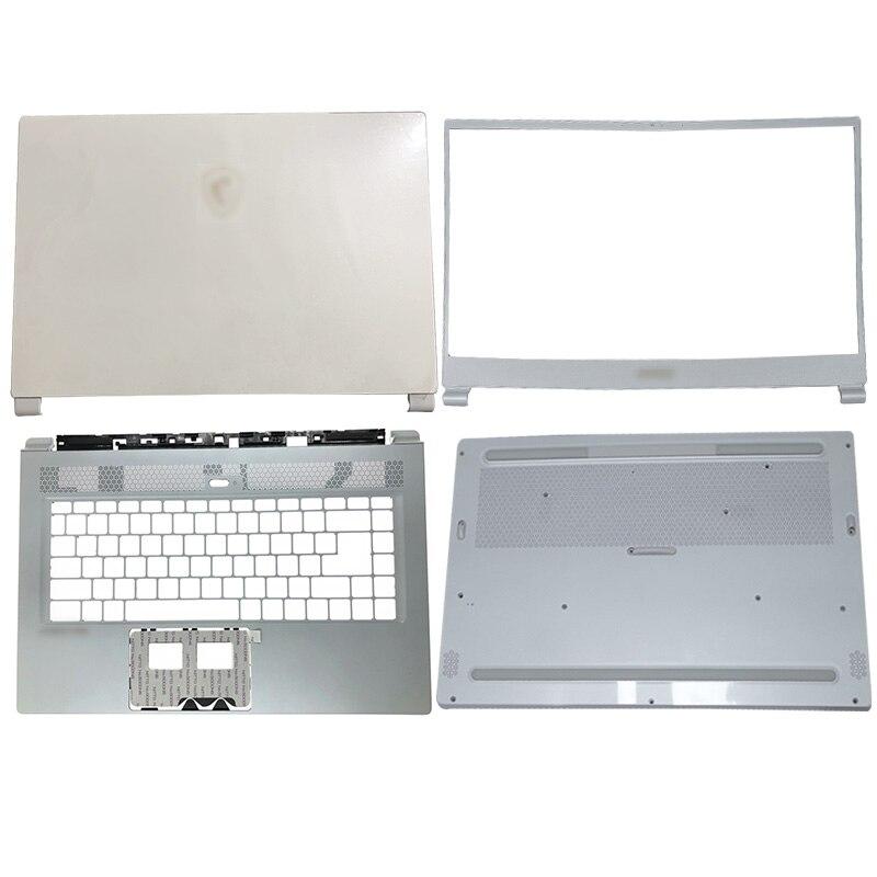 Nuevo Original para MSI WS65 P65 GS65 MS-16Q5 Laptop LCD cubierta trasera/bisel frontal/reposamanos/cubierta inferior blanca