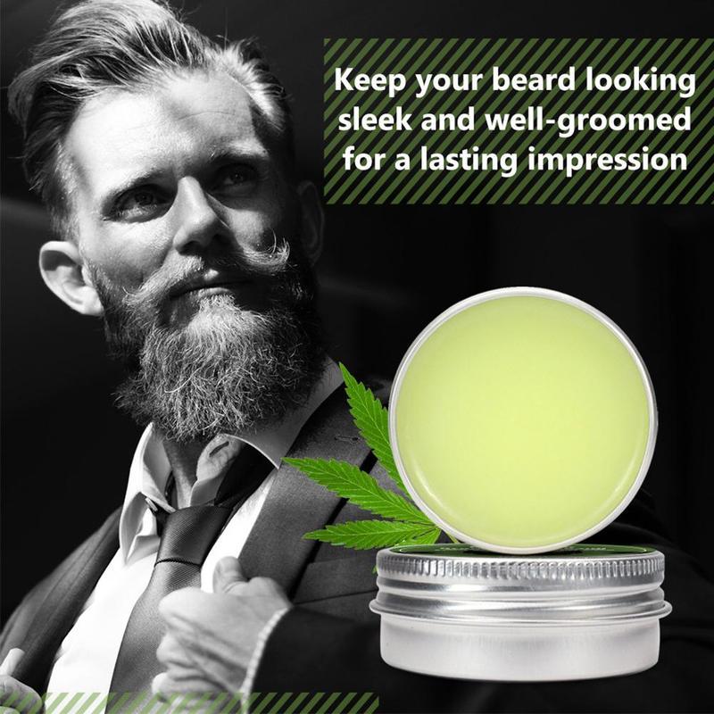 Beard Growth Oil Natural Hemp Beard Essential Oil Beard Wax Balm for Men Beard Hair Grooming Anti-lossing Hair Serum недорого