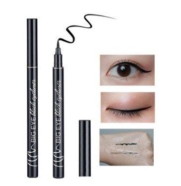1 Lápiz Delineador de ojos líquido resistente al agua, Lápiz Delineador de ojos negro de larga duración, Lápiz Delineador de ojos duradero de belleza para ojo, herramientas de maquillaje, Dropshipping