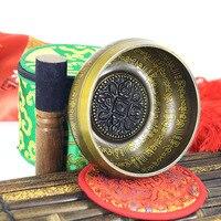 New Belief Singing Bowl Set Mindfulness Mantra Yoga With Mallet Gift Ornament Home Tibetan Chakra Healing Meditation