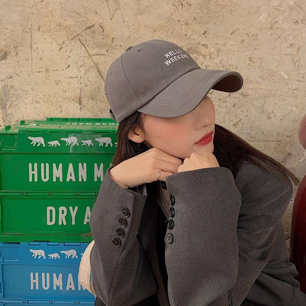 New Baseball Cap Female Korean-style Explicit Face Little Wild Popular Brand Big Slimming and Fashio