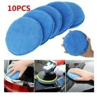 microfiber wax applicator ultra soft microfiber wax applicator pads with finger pocket wax applicator for cars wax applicator